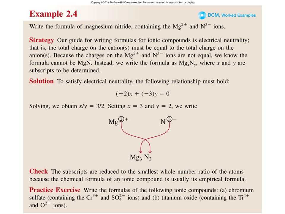 Atoms and Ions Worksheet Answer Key and Chapter 2 atoms Molecules and Ions Copyright © the Mcgraw Hill