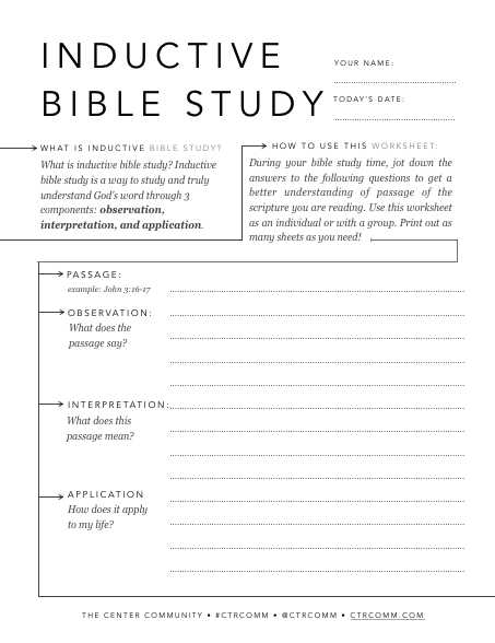 Bible Worksheets Pdf with How to Study the Bible 7 Simple Bible Study Methods Every Christian