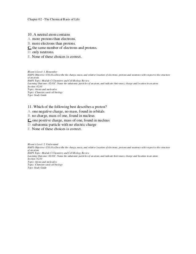 Biology Chapter 2 the Chemistry Of Life Worksheet Answers together with Schön Anatomy and Physiology Chemistry Review Bilder Menschliche