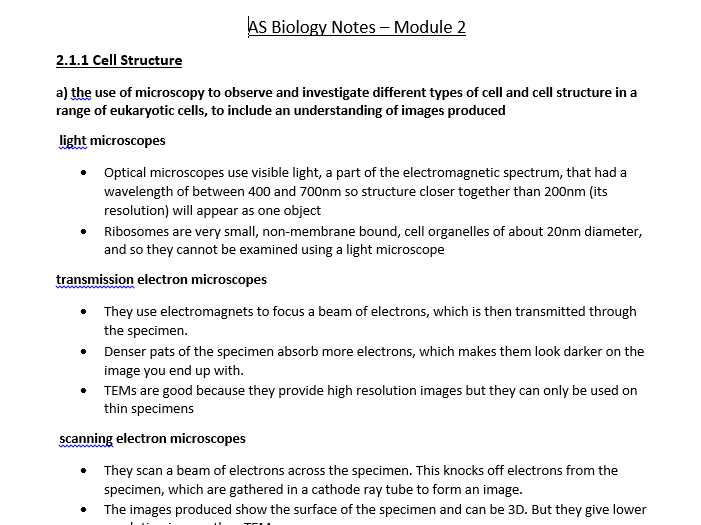Biomolecule Review Worksheet or Biology as Level Ocr Revision Notes Biological Molecules by