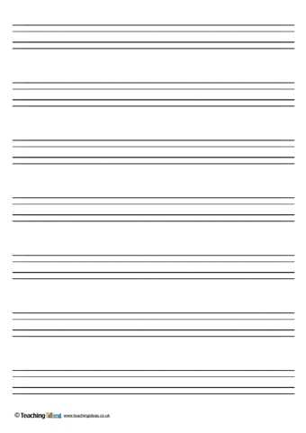 Blank Handwriting Worksheets together with Handwriting Paper Template Guvecurid