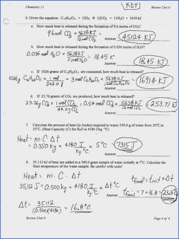 Calculating Specific Heat Worksheet with Heat Calculations Worksheet Answers Inspirational Worksheets 49