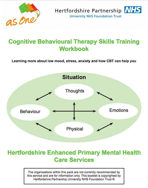 Cbt Worksheets for Anxiety and the Best Cbt Worksheets Activities and assignments All In One Place