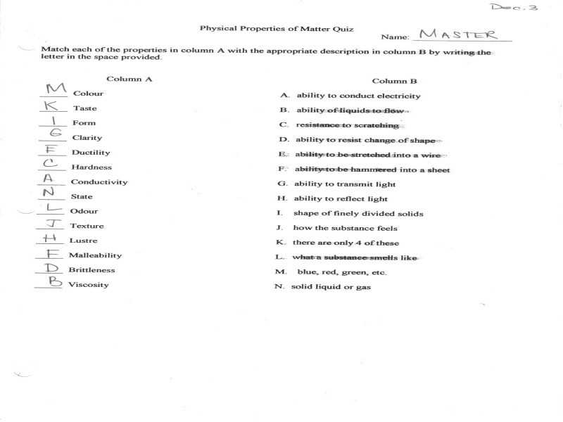 Changes Of State Worksheet Answers Along with Changes State Worksheet