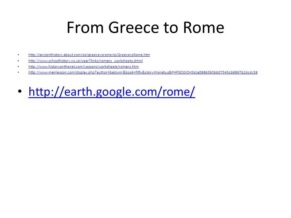 Chapter 6 Ancient Rome and Early Christianity Worksheet Answers Along with Ancient Greece Chapter Bce 133 Bce Ppt Video Online
