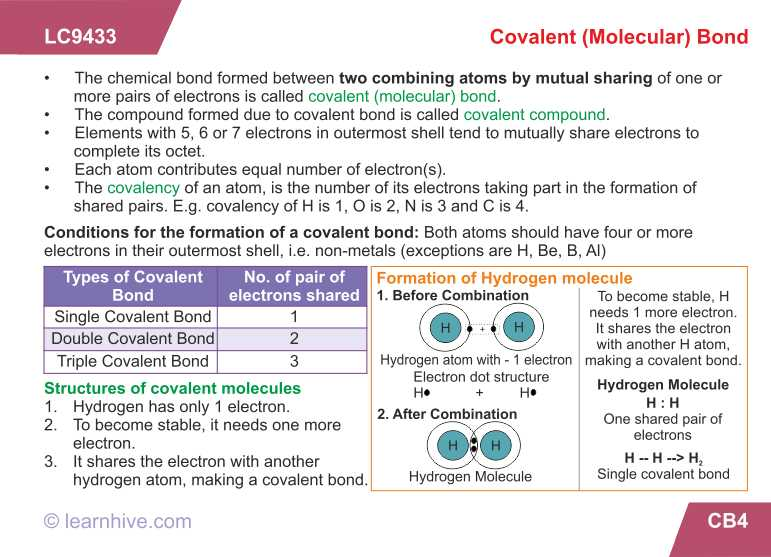 Chemical Bonding Worksheet Answers as Well as Learnhive
