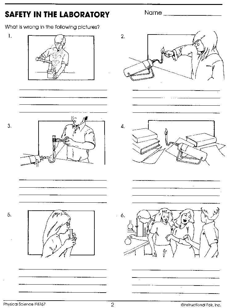 Chemistry Lab Equipment Worksheet Also 132 Best Safety In the Science Lab Images On Pinterest