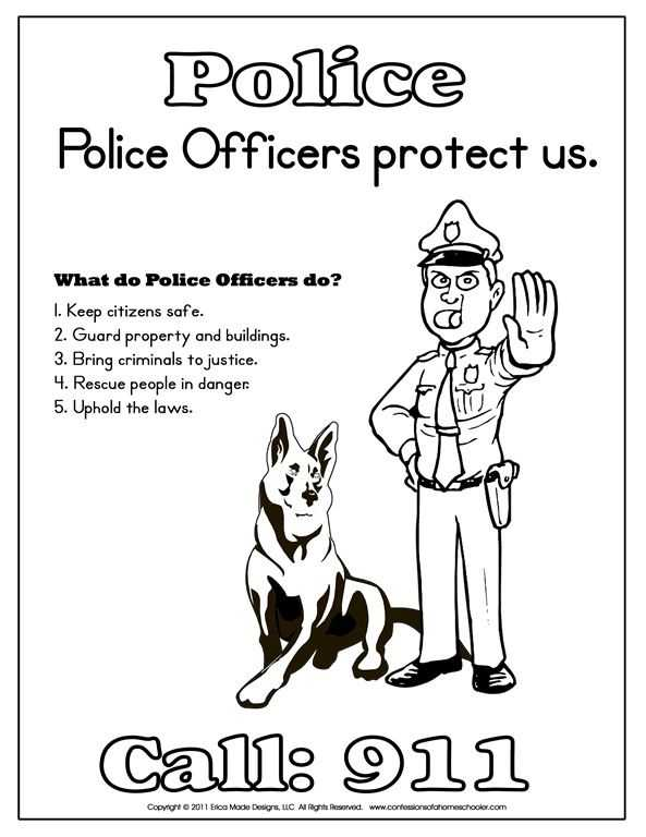 Community Helpers Police Officer Worksheet as Well as 9 Best Munity Workers Images On Pinterest