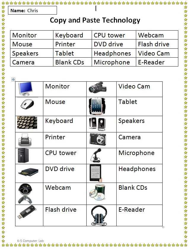 Computer Basics Worksheet Section 8 Also 8 Best Worksheets Images On Pinterest