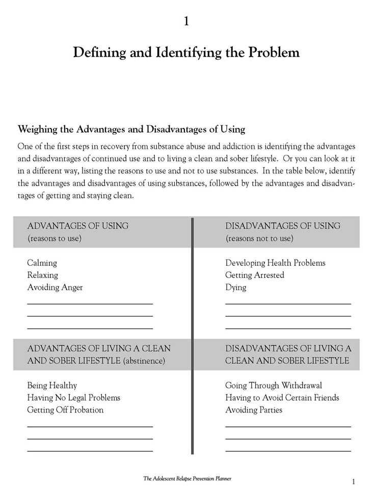 Coping Skills for Substance Abuse Worksheets as Well as 37 Best Relapse Prevention Images On Pinterest