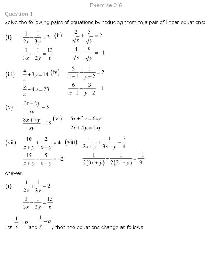 Course 3 Chapter 3 Equations In Two Variables Worksheet Answers Along with Ncert solutions Class 10 Science