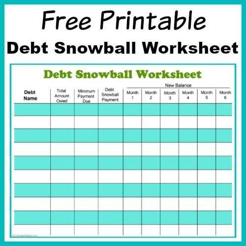 Dave Ramsey Debt Snowball Worksheet Also Besten Debt Snowball Bilder Auf Pinterest