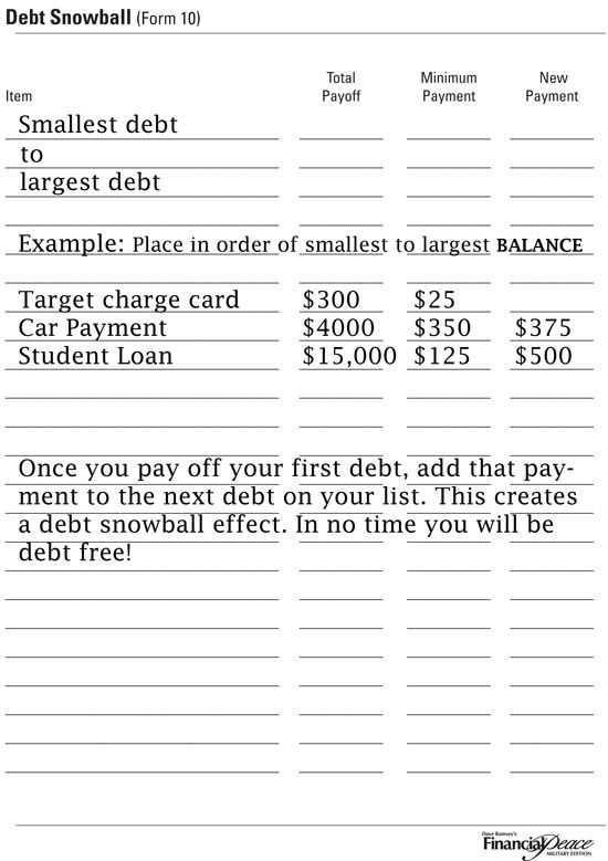 Dave Ramsey Debt Snowball Worksheet as Well as 111 Best Paying Down Debt Images On Pinterest