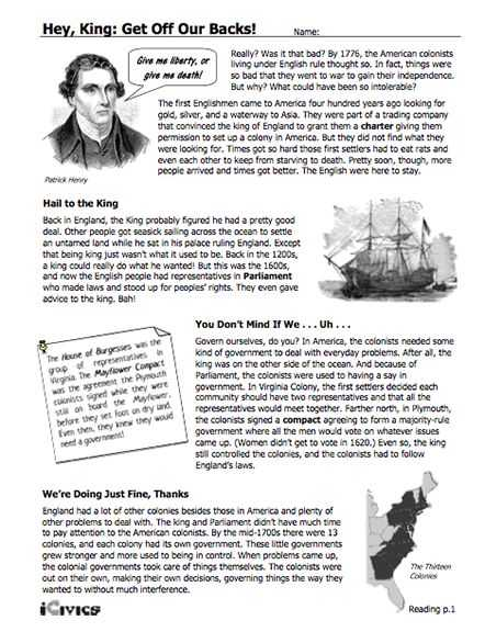 Declaration Of Independence Worksheet Answer Key or 119 Best American History Declaration Of Independence Images On