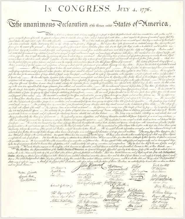 Declaration Of Independence Worksheet Answer Key or the Declaration Of Independence