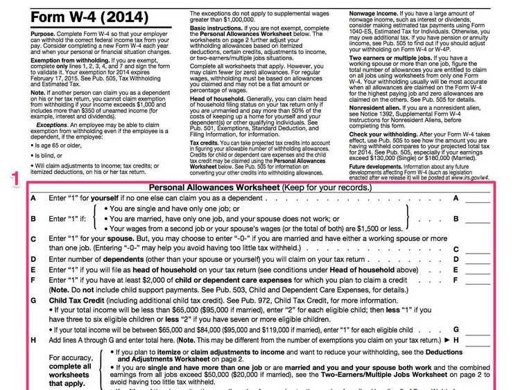 Deductions and Adjustments Worksheet Along with How to Fill Out A W 4 Business Insider