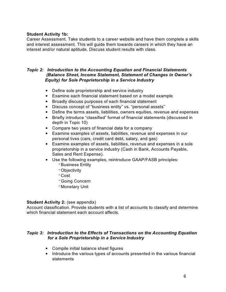 Determining the Effects Of Transactions On the Accounting Equation Worksheet Also Accounting for Investing and Managing Aim C
