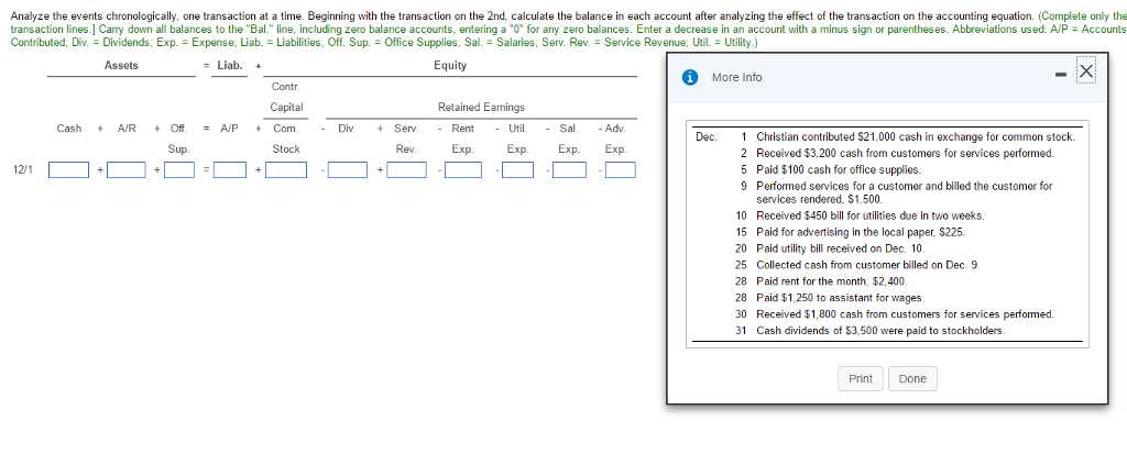 Determining the Effects Of Transactions On the Accounting Equation Worksheet or Accounting Archive February 06 2017