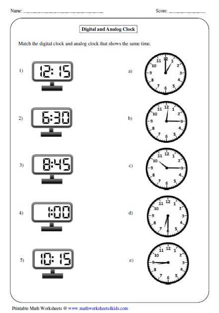 Digital Clock Worksheets Along with 18 Best Education Images On Pinterest