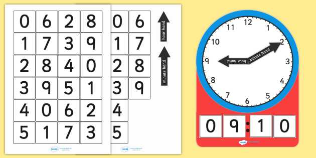 Digital Clock Worksheets or Analogue and Digital Clock Teaching Activity Analogue Digital