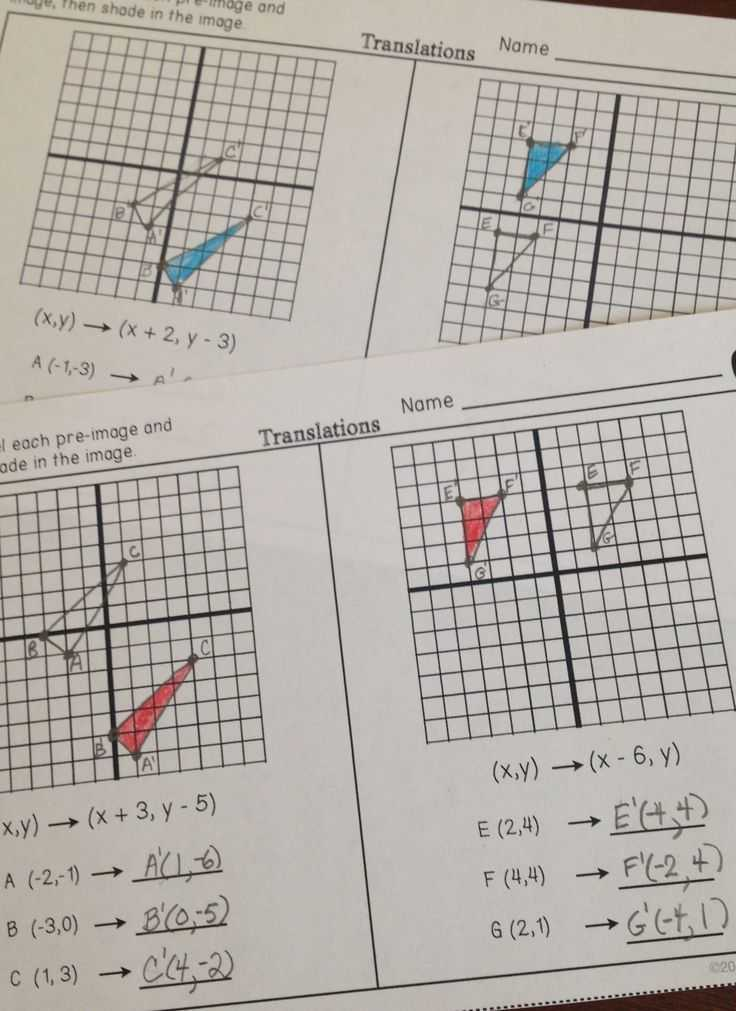 Dilations Worksheet Answer Key or 105 Best Geometry Images On Pinterest