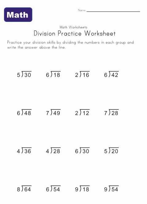 Dividing by 2 Worksheets or Simple Division Worksheet 4 Stuff to Buy Pinterest
