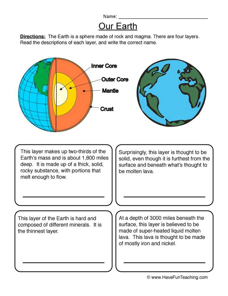 Earth Science Worksheets High School together with Space Worksheets Page 2 Of 3