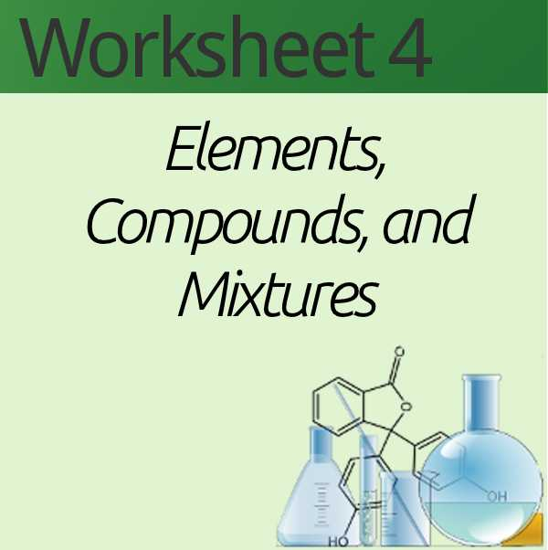 Elements Compounds and Mixtures Worksheet Pdf Along with Best Elements Pounds and Mixtures Worksheet Awesome Questions