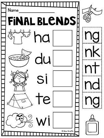 Ending Blends Worksheets as Well as 354 Best Phonics Images On Pinterest