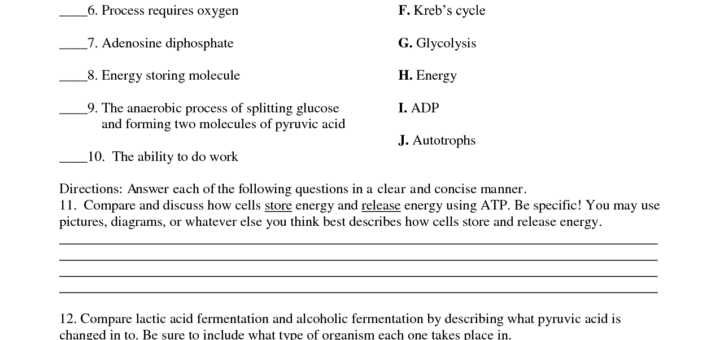 Energy In A Cell Worksheet Answers with Worksheets 43 Awesome Synthesis and Cellular Respiration