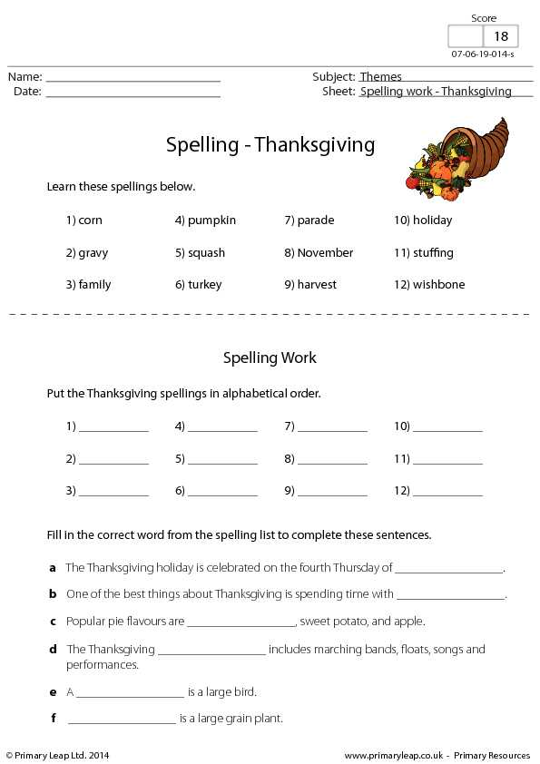 Esl Thanksgiving Worksheets Adults Also Print Free Worksheets Thanksgiving Worksheets for All