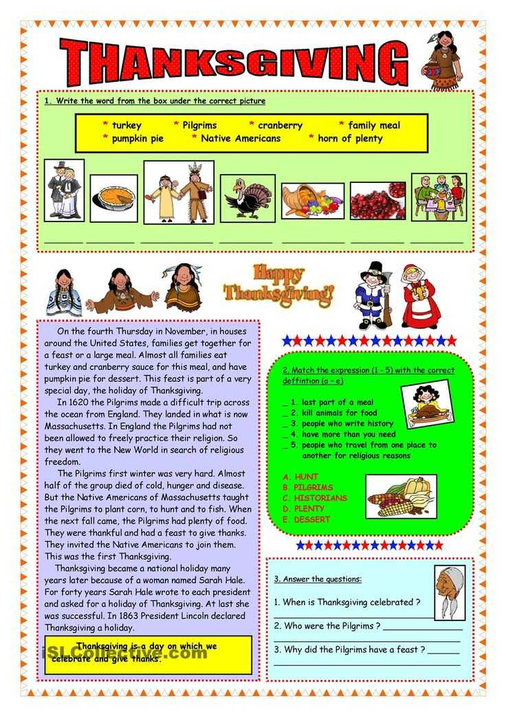 Esl Thanksgiving Worksheets Adults as Well as 26 Best Thanksgiving Images On Pinterest