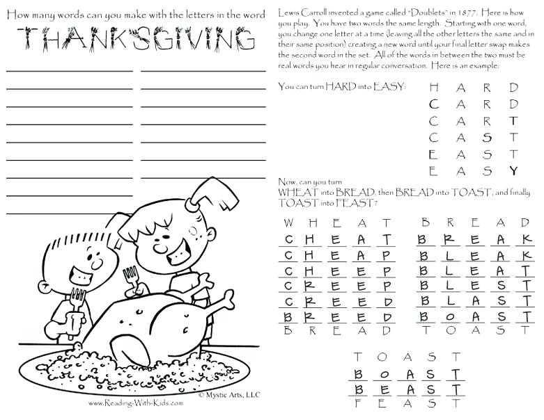 Esl Thanksgiving Worksheets Adults or Printable Activities for Adults Plus Thanksgiving Printable