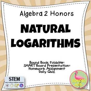 Expanding and Condensing Logarithms Worksheet Also Logarithmic Foldables Teaching Resources
