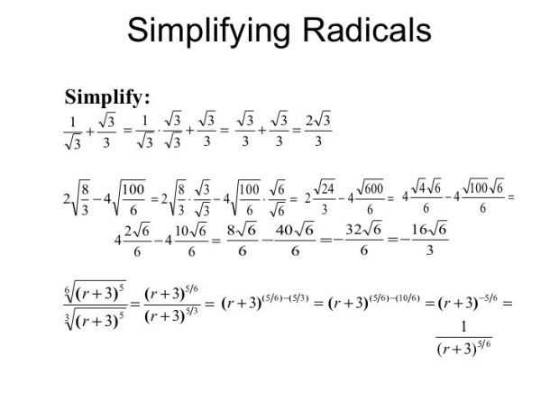 Exponents and Radicals Worksheet together with Simplifying Exponents Worksheet