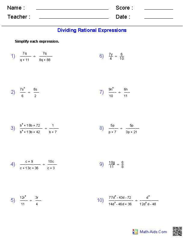 Factoring Polynomials Worksheet with Answers Algebra 2 Also Algebra 1 Worksheets