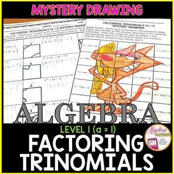 Factoring Trinomials with Leading Coefficient Worksheet or 10 Awesome Graph Factoring Trinomials with Leading