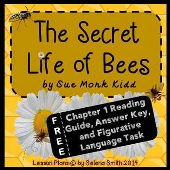 Fall Of the House Of Usher Worksheet Answers with Free Sample the Secret Life Of Bees Freebie Es with Chapter 1