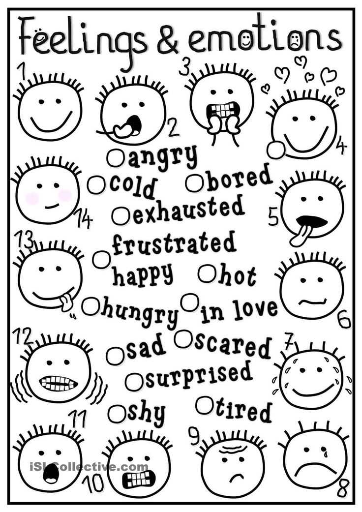 Feelings and Emotions Worksheets Printable Along with 8 Best Autism Images On Pinterest
