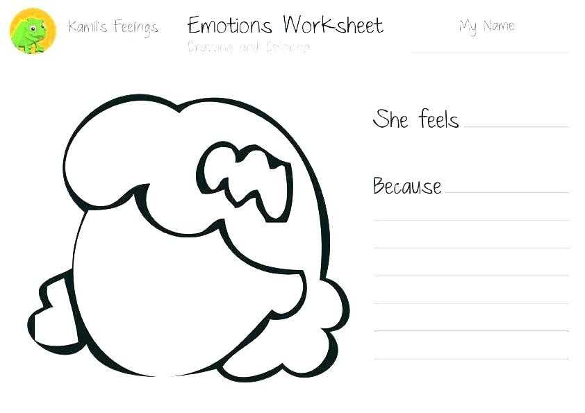 Feelings and Emotions Worksheets Printable as Well as Feelings Coloring Pages Luxury 20 Unique Emotions Coloring Pages