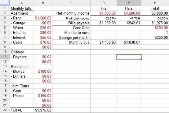 Financial Planning Worksheet Excel or Financial Planning Worksheet Excel Bud Templates