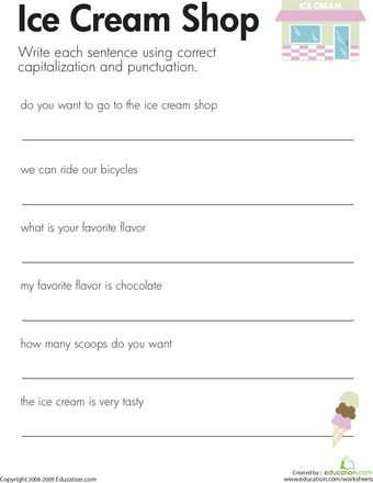 Fix the Sentence Worksheets or 20 Best Knowledge is Power Images On Pinterest