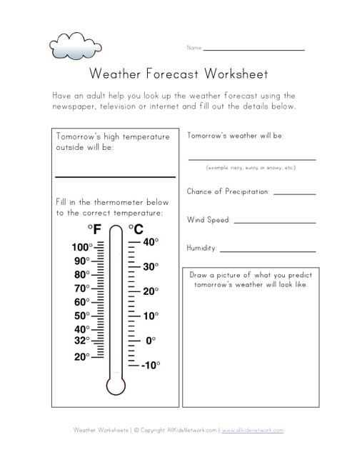 Forecasting Weather Map Worksheet 1 Answers together with 196 Best Measuring Weather Images On Pinterest