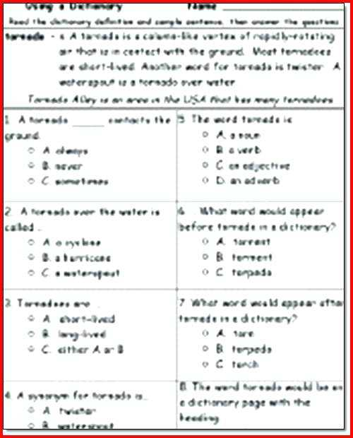 Free 2nd Grade Reading Comprehension Worksheets Multiple Choice as Well as Reading Prehension Worksheets 2nd Grade – Bitsandpixelsfo