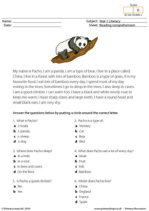 Free 2nd Grade Reading Comprehension Worksheets Multiple Choice together with 53 Best Prehensions Primary Leap Images On Pinterest