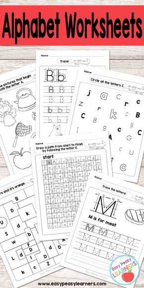 Free Alphabet Worksheets as Well as Alphabet Worksheets Tracing Identifying Letters and More