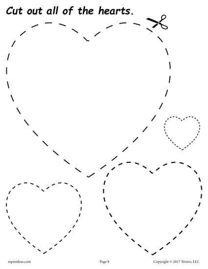 Free Cutting Worksheets with 12 Printable Shapes Cutting Worksheets