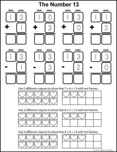 Free Printable Math Addition Worksheets for Kindergarten Along with Number Bonds to 11 Free Math Worksheets