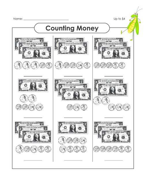 Free Printable Money Worksheets for Kindergarten together with 27 Best Money Counting Images On Pinterest