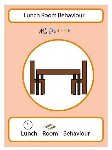 Free Printable social Stories Worksheets together with Lunch Room Behaviour social Story Pages 10